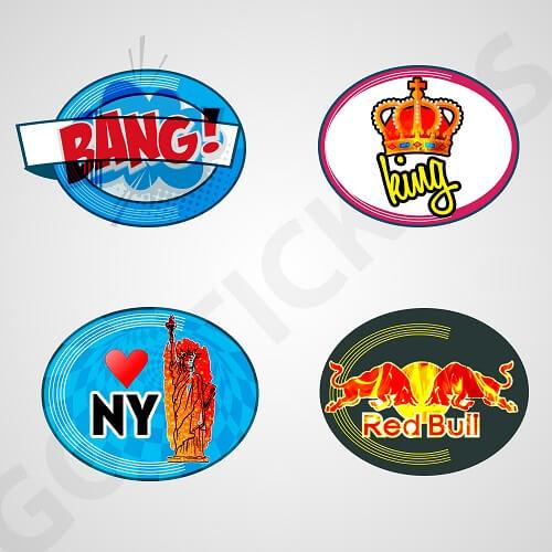 Custom-Oval-Bumper-Stickers