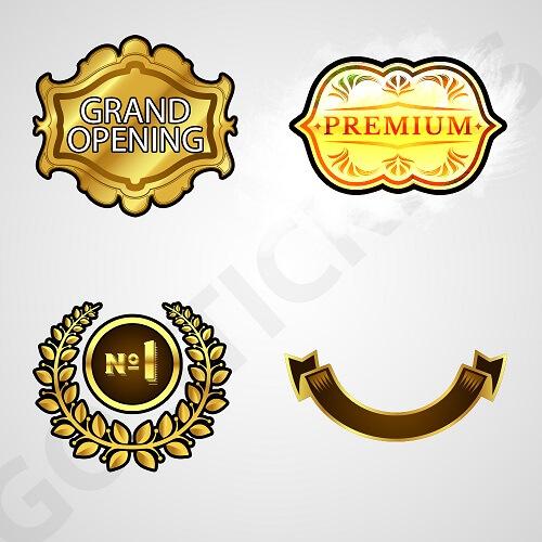 Custom-gold-foil-stickers