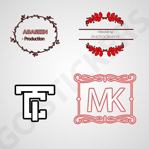 Custom-monogram-stickers