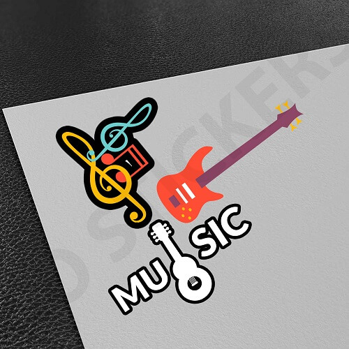 Customized-Music-Stickers