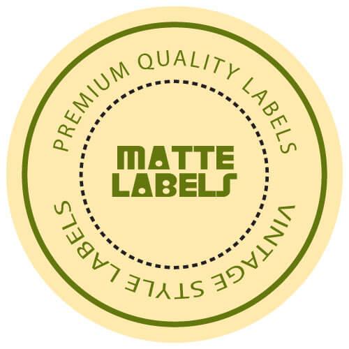 Customized-matte-label