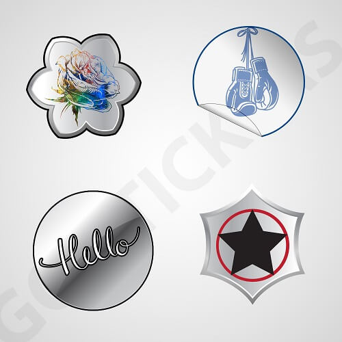 Embossed-Silver-Foil-Stickers