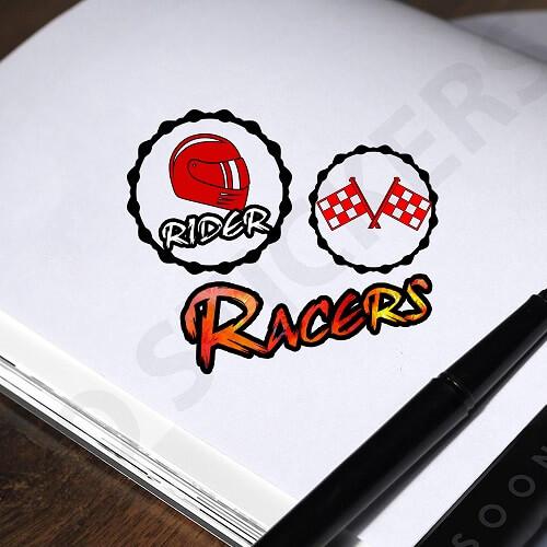 Racing-Stickers
