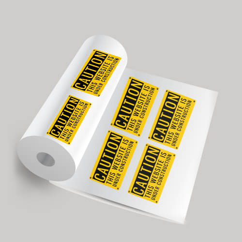 Writable Roll Labels