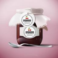 Bernardin Jar Labels