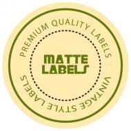 Matte Labels